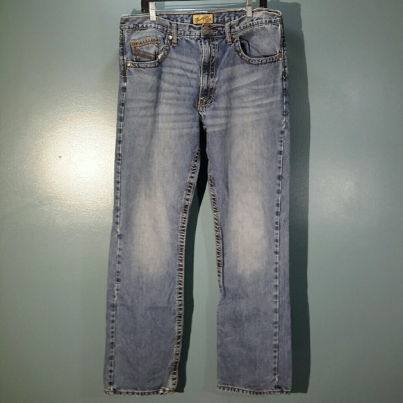 25ec4df4 Wrangler 20X style 42 vintage boot cut men's jeans.  M_5b0f5d9c61ca108550dc81cf